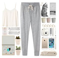 """home sweet home"" by mxrs ❤ liked on Polyvore featuring Steven Alan, Monki, Madewell, ASOS, Kate Spade, Henri Bendel, Korres, Bloomingville and Topshop"