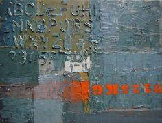 """Saatchi Art Artist Niki Hare; Painting, """"alphabyte"""" #art"""