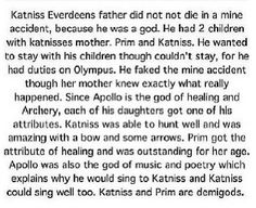 Hunger Games/ Percy Jackson cross over