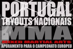 Try Outs para o Europeu de MMA (IMMAF). Try Outs for the European championship...