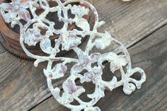 Architectural Salvage Decor Chippy White Paint on Etsy, $24.99