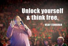 Free your mind and the rest will follow. Follow me on Twitter @vjayeswaran for more quotes.
