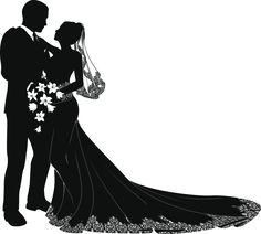 bride and groom vector w e d d i n g i n v i t a t i o n s rh pinterest com bride and groom vector illustration bride and groom vector silhouette