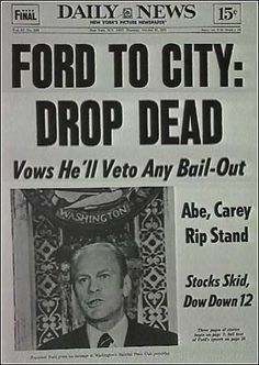 Famous Newspaper Headlines In History | Daily Dot: Drop-dead famous headlines