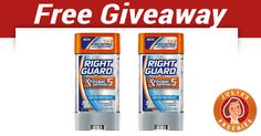 Right Guard Xtreme Defense 5 Deodorant Giveaway