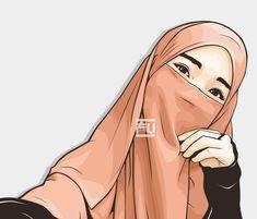 I love hijab . Muslim Girls, Muslim Women, Islamic Quotes On Marriage, Muslim Religion, Islamic Cartoon, Niqab Fashion, Anime Muslim, Hijab Cartoon, Islamic Girl