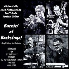 Burnin' @ Backstage 31 Jan 2015