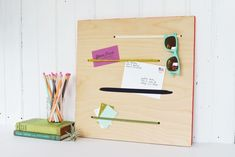 You may think you need to buy expensive organizers and complete complicated projects to keep your home tidy, but sometimes there's a simpler answer right there in front of you. 12 Ways to Organize with Office Supplies | Apartment Therapy