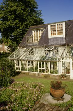 A view of the exterior of Virginia Woolf's last home, Monk's House, in East Sussex. Dream destination!