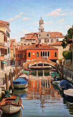 Licio Passon   pintor italiano   1965