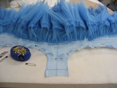 tutu tutorial Oregon Ballet Theatre: News from the Costume Shop...in case I ever have to make one: