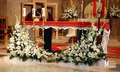 Znalezione obrazy dla zapytania kwiaty w kościele