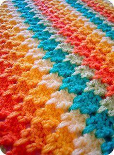 Watch This Video Beauteous Finished Make Crochet Look Like Knitting (the Waistcoat Stitch) Ideas. Amazing Make Crochet Look Like Knitting (the Waistcoat Stitch) Ideas. Crochet Afghans, Crochet Motifs, Manta Crochet, Crochet Stitches Patterns, Knit Or Crochet, Learn To Crochet, Crochet Crafts, Crochet Projects, Stitch Patterns