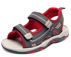 DADAWEN Boy's Girl's Adventure Seeker Two-Strap Sandal (Toddler/Little Kid/Big Kid) * You can get more details by clicking on the image.