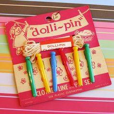 Dolli-pin 1960s
