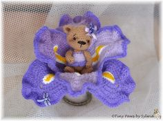 Iris | Flower Bears Collection | Sylwia Kowalska | Flickr