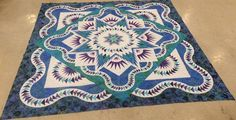 Glacier Star, Quiltworx.com, Made by Jean Cote Williams, Taught by CI Jackie Kunkel