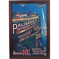 Palisades Amusement Park Poster