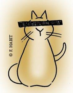 Franklin Habit talks cats. Cats and yarn!