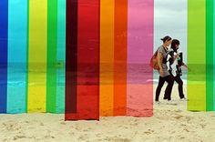Nicholas Elias plexi art installation, Sydney