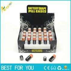 2pc Free Shipping small Battery Secret Stash Diversion Safe Pill Box Hidden Money Coins Container Case storage box caja