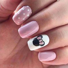 Al mal tiempo, uñas lindas🥰💅 Disney Manicure, Disney Acrylic Nails, Best Acrylic Nails, Nails For Disney, Simple Disney Nails, Disney Nail Designs, Short Nail Designs, Nail Art Designs, Nails Design