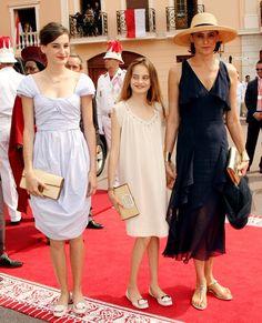 Inès de la Fressange, The Royal Wedding of Prince Albert II of Monaco to Charlene Wittstock