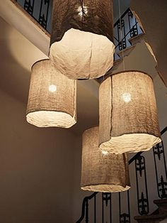 Φτιάξτε μόνοι σας τα πιο στιλάτα φωτιστικά για το σπίτι!