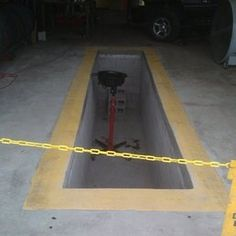 Capital Area Contracting - Austin, TX, United States. oil change pit 4