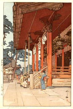 beautiful wood-block prints by hiroshi yoshida 48