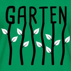 """Frauen T-Shirt """"Garten""""   Gartenshirt"""