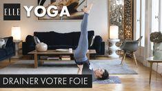 20 minutes de yoga pour drainer son foie┃ELLE Yoga