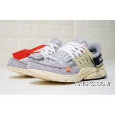 Mens Off-White X Nike Air Presto Running Shoes Grey AA3830-002 Copuon f0a7fc5fc
