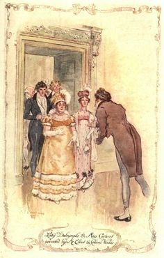 CE Brock illustrations of Persuasion (Are you a RAPper or a RAPscallion? Http://www.regencyassemblypress.com)