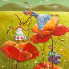 Mariana Kalacheva, paintings - ego-alterego.com