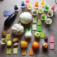 food design, paleta de colores