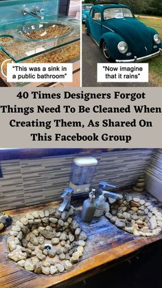 The last time we wrote about the Facebook group 'Things designed by people who don't have to clean them', it had 40,000 members. #40 Times #Designers #FacebookGroup