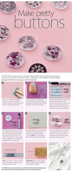 Make pretty buttons - Ideas