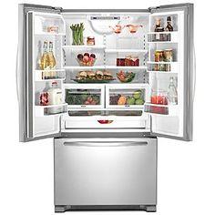 New fridge interior