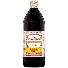 Zimnotłoczony olej słonecznikowy, tłoczony w Polsce z wysokiej jakości składników. Sprawdź już dzisiaj jak smakuje olej słonecznikowy od Laboratorium Biooil! Wine, Drinks, Bottle, Drinking, Beverages, Flask, Drink, Jars, Beverage