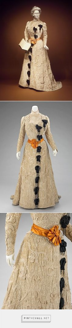 Afternoon dress by House of Worth 1905-08 French | The Metropolitan Museum of Art