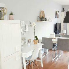 werkplek Office Desk, Sweet Home, Dining Table, Interior, Furniture, Home Decor, Homemade Home Decor, Diner Table, Desk