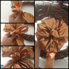Bow making step by step