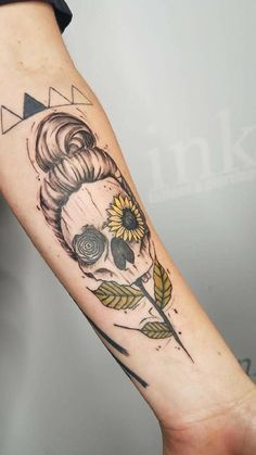 50 Ideas Tattoo Mermaid Skull Tat For 2019 Mermaid tattoo – Fashion Tattoos Cool Tattoos For Guys, Trendy Tattoos, Love Tattoos, Small Tattoos, Random Tattoos, Piercings, Piercing Tattoo, Hair Tattoos, Body Art Tattoos