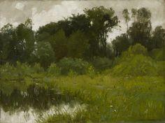 Alexis Jean Fournier, After Rain, on Minnehaha Creek 1897