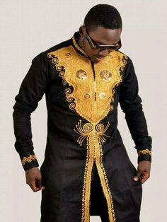 African Men's Clothing dashikiwedding suite by AJBoutiqueDesigns