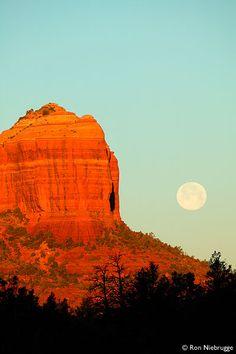 Red rock formation in Sedona, Arizona.