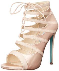 Blue by Betsey Johnson Women's SB-MILA Dress Sandal -- For more information, visit now : Block heel sandals