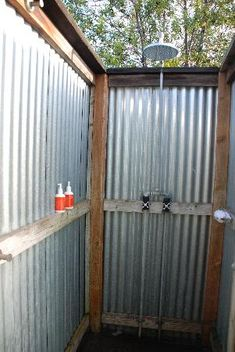 My Favorite part of Canerous Inn   Loved Outdoor shower