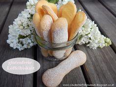 glutenfreie Löffelbiskuit (Biskotten), nicht nur der ideale zuckerarme Kindersnack, sondern auch für glutenfreies Tiramisu und Kuchen geeignet :-) Auf meinem Blog könnt ihr nachlesen wie ihr diese glutenfreien Löffelbiskuits (Biskotten) mit wenig Aufwand selbst machen könnt!  http://zauberhaftekruemel.blogspot.co.at/2016/05/rezepte-glutenfreie-loffelbiskuit.html